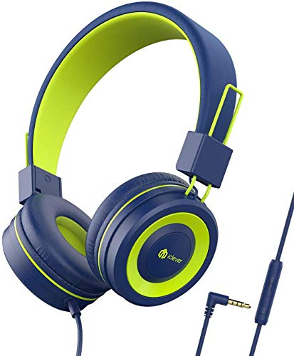 Kopfhörer Kinder, iClever Kopfhörer für Kinder, Verstellbares Stirnband, Stereo Sound, Faltbare,...