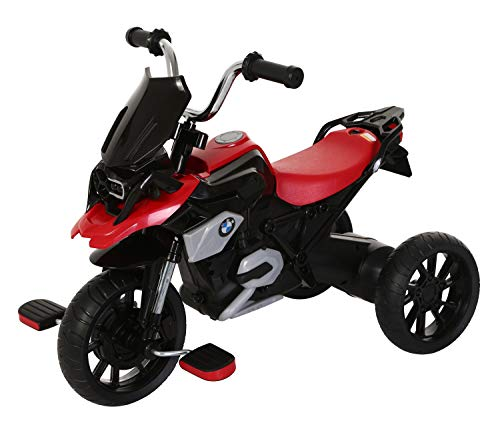 ROLLPLAY 42314 Dreirad, Für Kinder ab 2 Jahren, Bis max. 22 kg, BMW R1200 GS Motor Trike, Rot
