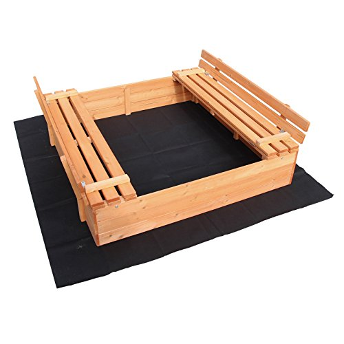 Holzsandkasten von Wiltec
