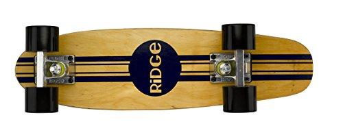 Ridge Retro Skateboard Mini Cruiser, schwarz, 22 Zoll, WPB-22