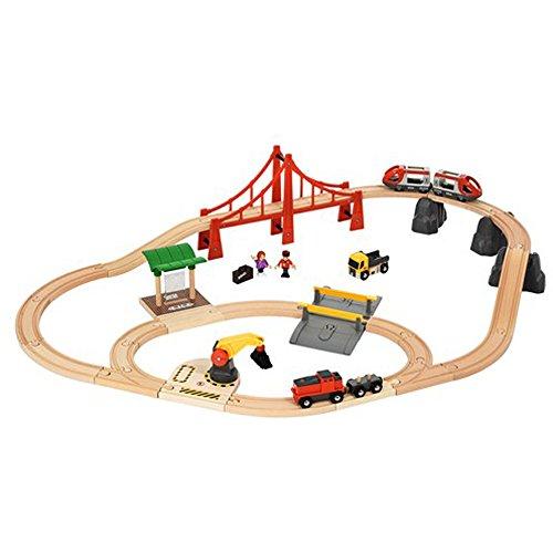 BRIO 33924 Bahn großes City und Frachten-Set