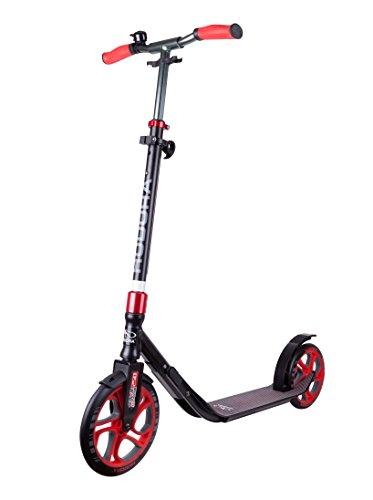 HUDORA Scooter Roller CLVR 250, Tret-Roller, Kickboard, Klapproller, rot, 14833