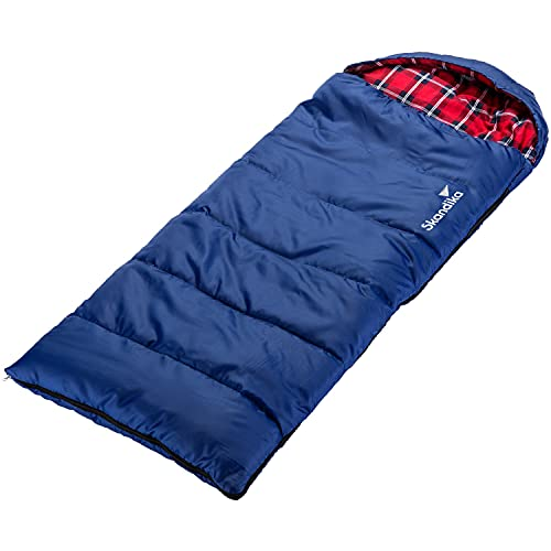 skandika Dundee Junior Kinderschlafsack | Outdoor Camping Schlafsack für Kinder, Flanell-Innenfutter aus...