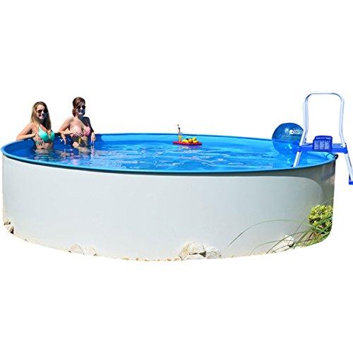 Poolzon Rundpool Fun-Zon 4,50 x 1,20m Gartenpool, Stahlwandbecken, Schwimmbecken