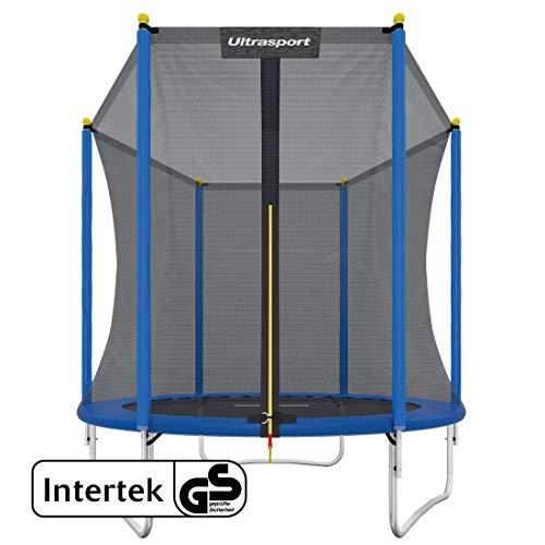 Ultrasport Uni-Jump Gartentrampolin, Intertek GS geprüft, Kinder Trampolin, Trampolin-Komplettset inkl....