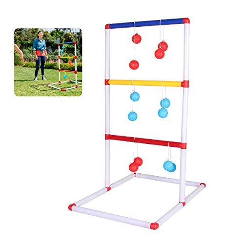 Bilisder Leitergolf Spiele für Draußen Kinder Wurfspiel, Gartenspielzeug Spiele Drinnen und Draußen,...