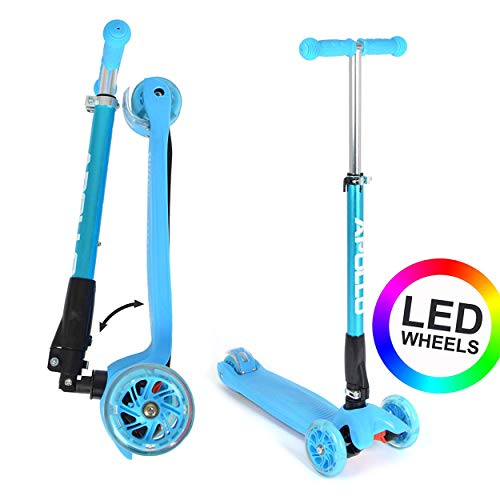 Apollo: Fun-Scooter Kids Whiz LED Roller für Kinder ab 3 Jahre