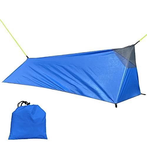 xianghaoshun Camping Hängematte Zelt, Leichte Rucksackzelt Für Camping, Wandern, 1 Person Premium...