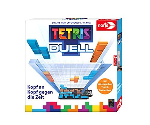 Noris 606101799 – Tetris Duell, das packende Eins-gegen-Eins Strategiespiel für Groß und Klein, ab 6...