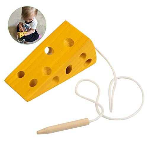BelleStyle Montessori Aktivität Holzkäsespielzeug, Kinder Kinder Frühes Lernen Pädagogisches...