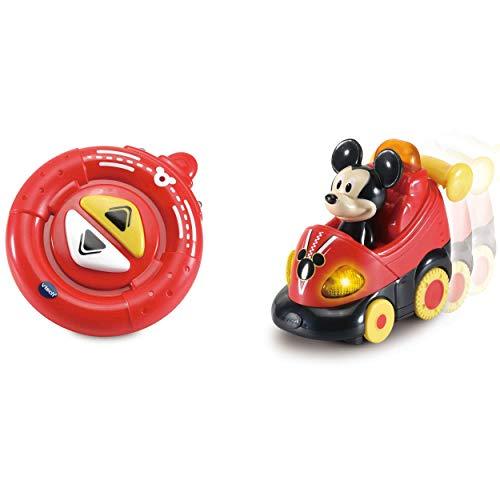 Vtech 80-513704 TUT Baby Flitzer-Mickys RC-Auto Mickey & Friends Babyspielzeug