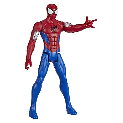 Marvel E73295L2 Spider-Man: Titan Hero Serie Armored Spider-Man, 30 cm große Superhelden Action-Figur