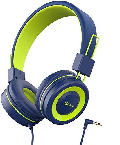 Kopfhörer Kinder, Kopfhörer für Kinder, Verstellbares Stirnband, Stereo Sound, Faltbare, entwirrte...