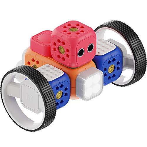 Robo Wunderkind Lernroboter für Kinder ab 5 Jahren - Lego-kompatibler Robotik Baukasten mit von...