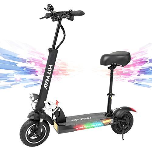 Elektroroller zusammenklappbar für Erwachsene, 800 W E-Scooter, Höchstgeschwindigkeit 45 km / h...