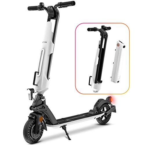 HUABANCHE Elektroscooter erwachsene e scooter mit straßenzulassung eKFV E Roller, ABE-Zertifizierter...