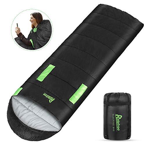 Relefree Schlafsack Lschlafsack Outdoor Leichtgewicht Warm Outdoor 100% Baumwollhohlfaser,Kann...
