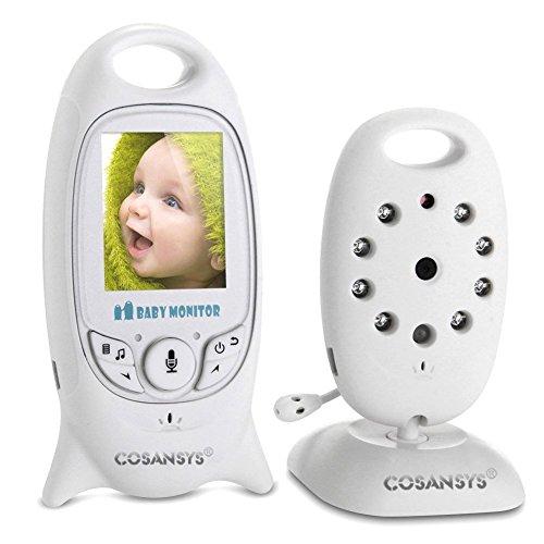 Babyphone mit Kamera Video Baby Monitor Gegensprechfunktion kabellos Digital Überwachungskamera...