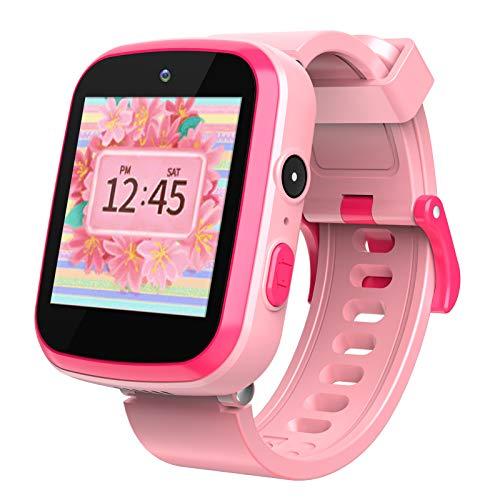 Smartwatch für Kinder - Majome Kinderuhr Mädchen mit Schrittzähler MP3-Kamera, Rechner und 9 Spiele...