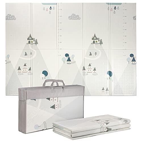 ONVAYA® Spielmatte für Babys & Kinder | Krabbelmatte faltbar | Bodenmatte für Kinderzimmer & Outdoor |...