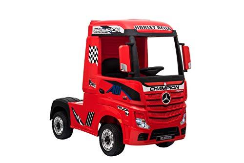 Kinderfahrzeug - Elektro Auto 'Mercedes Actros' - lizenziert - 2x 12V7AH, 4 Motoren- 2,4Ghz...