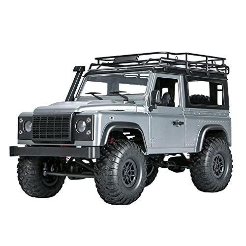 Lihgfw 1/12 Scale Electric 4 Wheel Offroad Hobby RC Trucks, 2,4 GHz Radio Road Monster All Terrain...