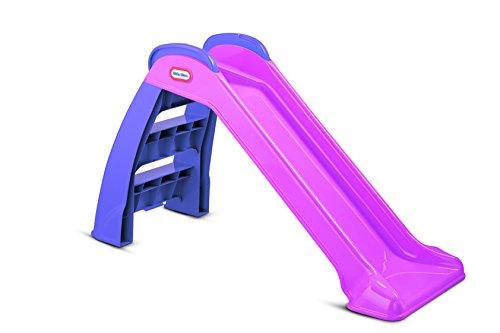 Little Tikes Erste Rutsche - Spielset für drinnen oder draußen - langlebig, stabil, kindersicher - pink...