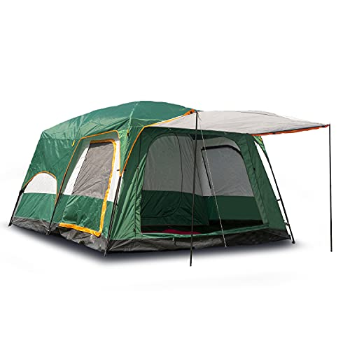 Activa Luxury Garden Outdoor Zelt für 4-6 Personen und 3 Jahreszeiten mit Vorzelt wasserdicht kleines...