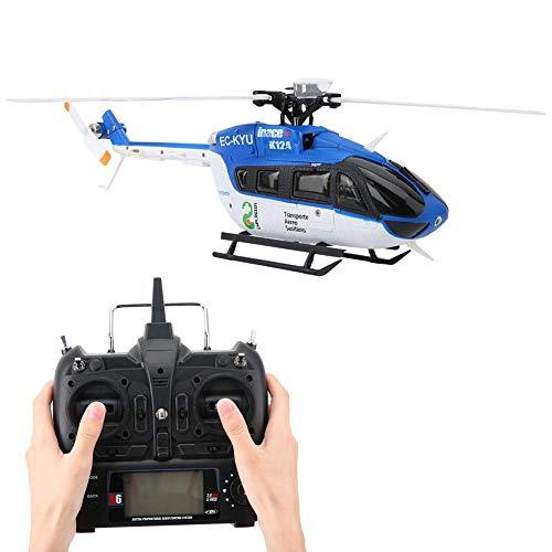 RC Helikopter, Gyro und 3D / 6G Modus 6 Kanal Sensitive Mini Helikopter Fernbedienung 1106 11000KV...