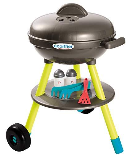 Ecoiffier – Kugelgrill für Kinder – 16-teiliger Spielzeug-Grill, mit Bratwurst, Brathähnchen und...