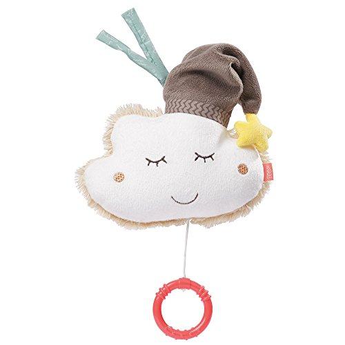 Fehn 060133 Spieluhr Wolke – Aufzieh-Spieluhr mit herausnehmbarem Spielwerk – Melodie 'Schlaf...