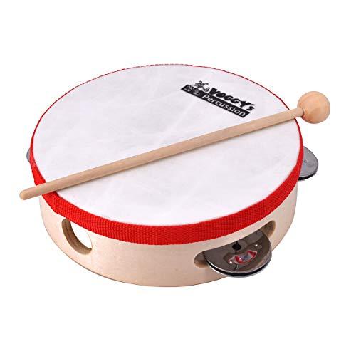 Mini Musikinstrument Tamburin Schlagen Instrument  für Kinder Erwachsene