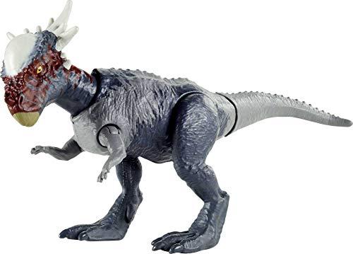 Jurassic World GVG49 - Dino Rivals Dino-Angriff Stygimoloch, Dinosaurier-Actionfigur, bewegliche Arme und...