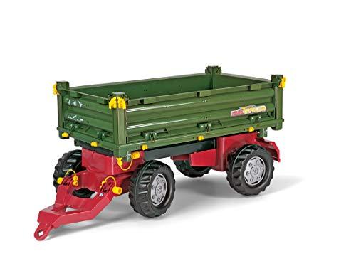 Rolly Toys 125005 - rollyMulti Trailer für Trettraktoren (für Kinder von 3 - 10 Jahre,...