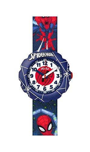 FlikFlak Jungen Analog Quarz Uhr mit Stoff Armband FLSP012