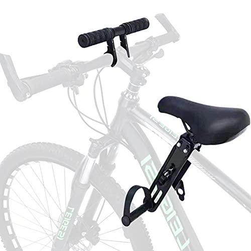hookS Kinderfahrradsitz Für Mountainbikes, Vorne Montierte Fahrradsitze mit Lenkerbefestigung, Tragbarer...