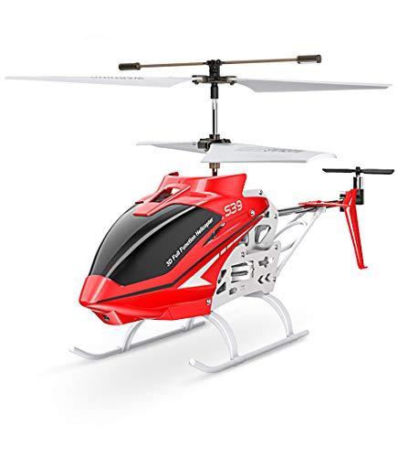 Syma S39 Ferngesteurter Helicopter RC Hubschrauber 3.5 Kanal 2.4 Ghz LED Leucht und Gyro-Technik Geschenk...
