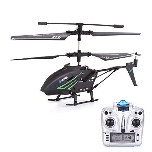 VATOS RC Hubschrauber Ferngesteuert Indoor Mini Helikopter Spielzeug Ferngesteuert RC Helikopter Flugzeug...