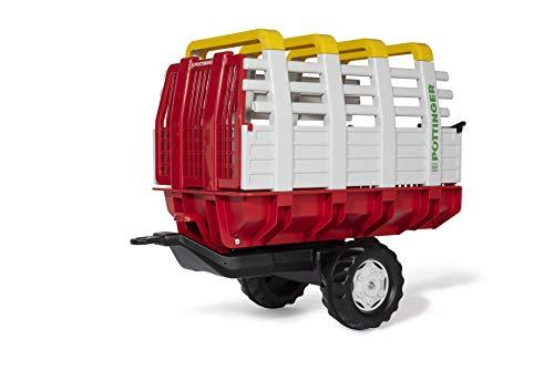 Rolly Toys 122479 rollyHaywagon Pöttinger Anhänger für Trettraktor (von 3-10 Jahre,...