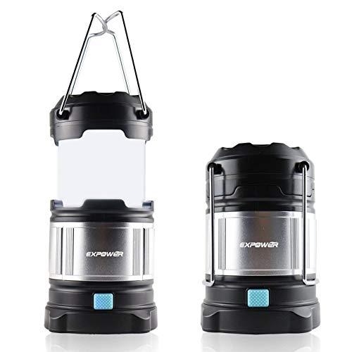 IPX5 wasserdicht tragbare LED Camping Laterne Helle Campinglampe Gartenlaterne Led USB Lampe Taschenlamp...