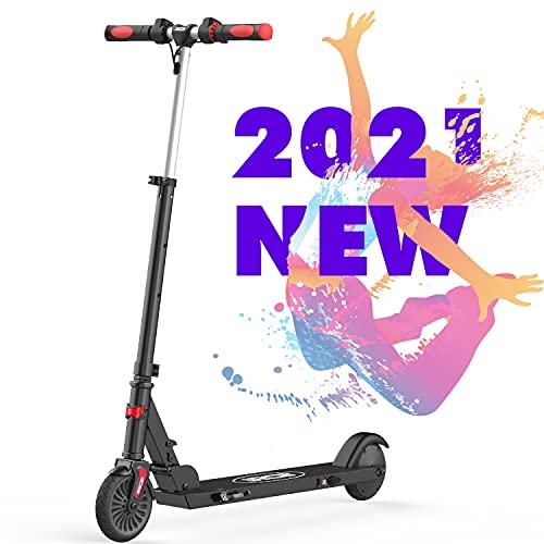 RCB Roller Elektro Scooter Faltbar verstellbar für Kinder 5,5 Zoll Geschwindigkeit max. 20 km/h Licht...