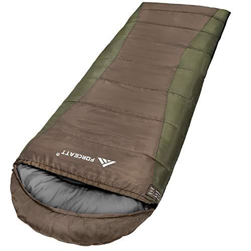 Forceatt Schlafsäcken,Temperatur Verwenden 41 °F-68 °F,Geeignet für 2-3...