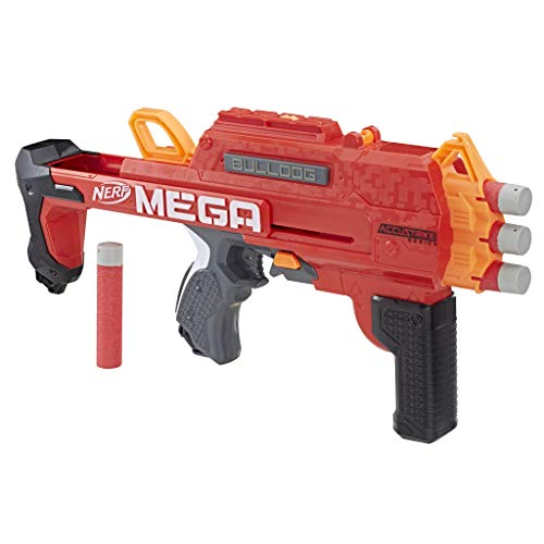 Hasbro Nerf E3057EU4 Nerf MEGA Bulldog, 2-in-1 Spielzeugblaster, Multicolor