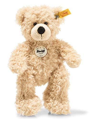 Steiff Teddybär Fynn - 18 cm - Teddy Kuscheltier für Kinder - beweglich & waschbar - beige (111372)
