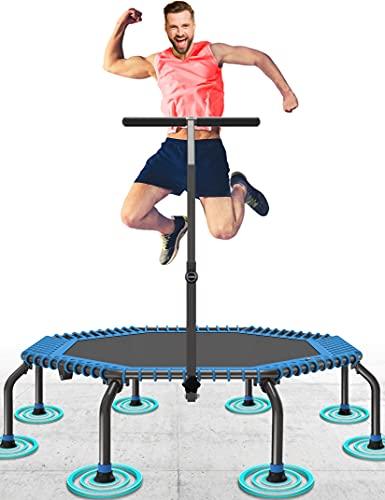 50' Fitness Trampolin Max. Laden Sie 250lbs Einfache Installation Klappbar Mini Trampoline für Kinder...