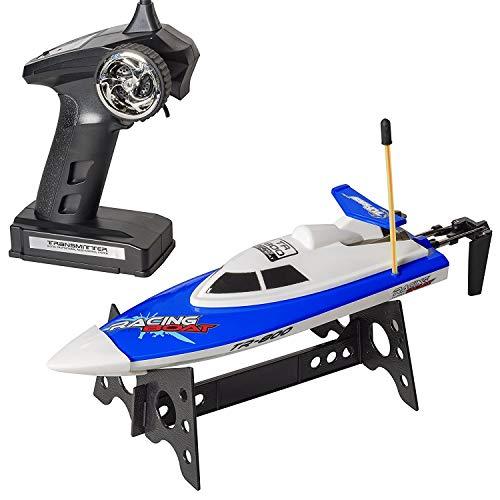 Top Race Fernbedienung RC Speed Boat 2 Farben - Boote können in unmittelbarer Nähe zusammen...