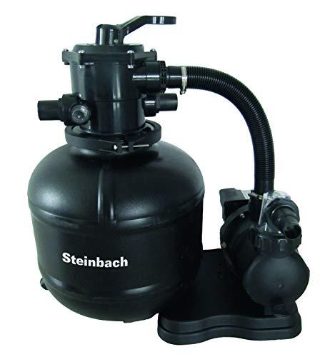 Steinbach Filteranlage Classic 400, Umwälzleistung 6,6 m³/h, 230 V/450 W, 7-Wege-Ventil, Anschluss Ø...