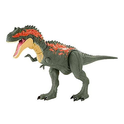 Jurassic World GVG67 - Gewaltige Beißer Albertosaurus, größere Dinosaurier-Actionfigur mit beweglichen...