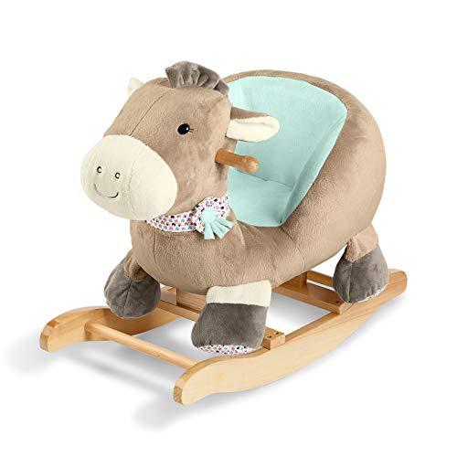 Sterntaler 9902003 Schaukeltier, Pony Pauline, Alter: 13485 Monate, Mehrfarbig