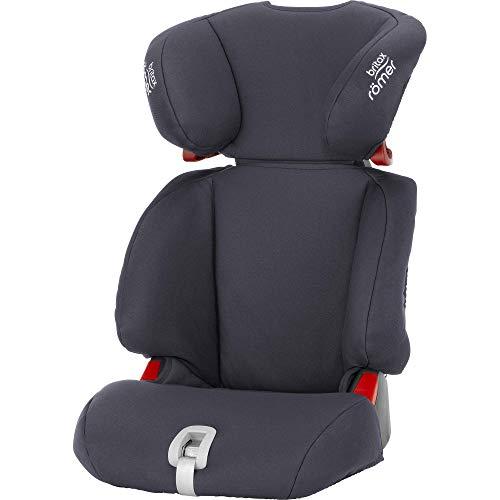 Britax Römer Kindersitz 3,5 - 12 Jahre I 15 - 36 kg I DISCOVERY SL Autositz Gruppe 2/3 I Storm Grey